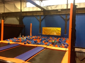 Endless Possibilities Include Trampoline Parks and Foam Pits | Photo by jackiespaige.wordpress.com