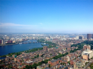 Our View from the Prudential |Photo by jackiespaige.wordpress.com